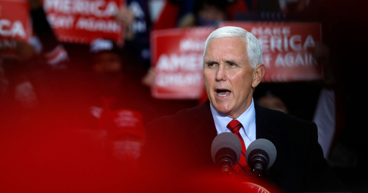 Health experts raise concerns about Pence events after aides test positive for Covid – NBC News