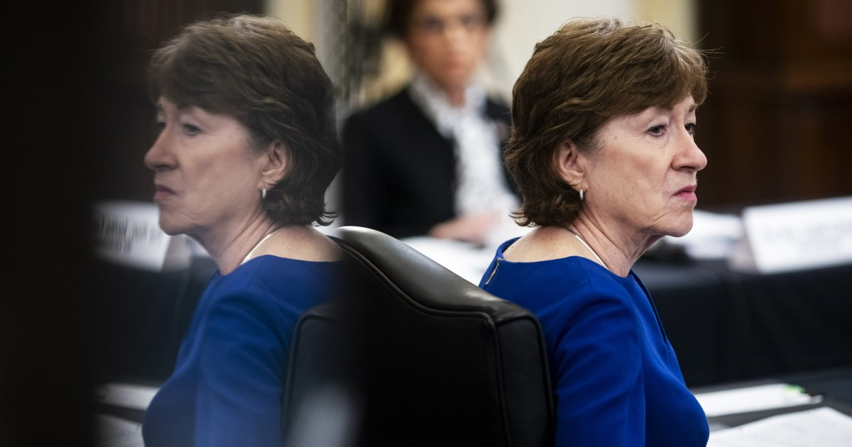 Collins and Ernst split on Barrett confirmation in tough re-election bids