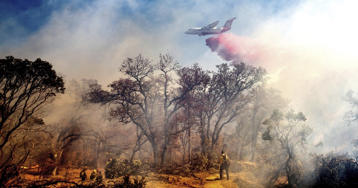 Hundreds of thousands lose power as Northern California braces for more wildfires – NBC News