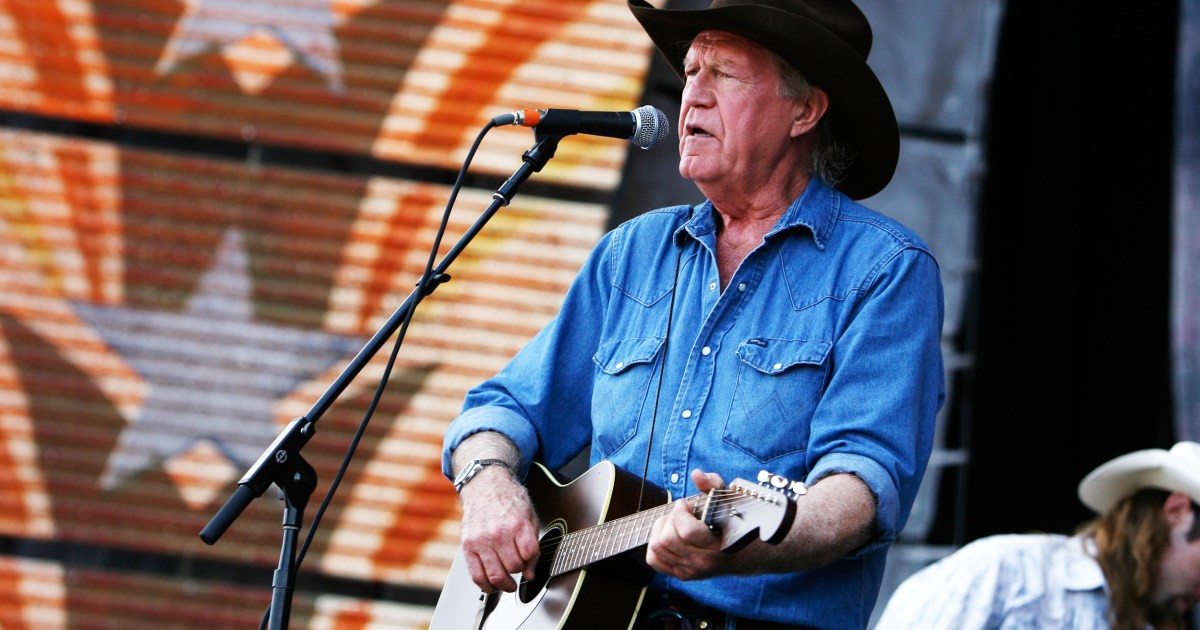 Billy Joe Shaver singer-songwriter and hero of 'outlaw' country dies at 81 – NBC News