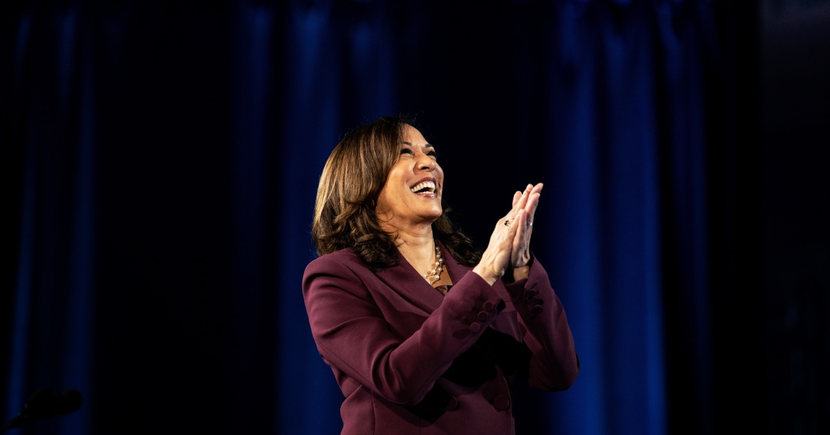 Harris makes history as first female, Black, South Asian American VP-elect
