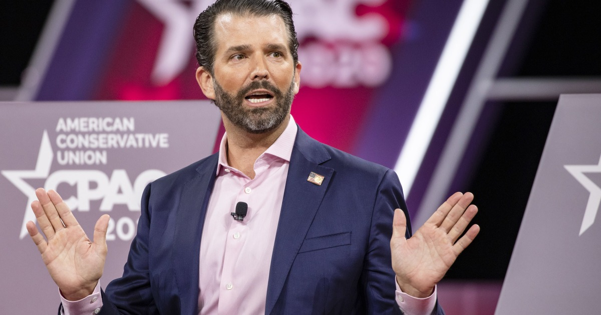 Donald Trump Jr. says Covid deaths are 'almost nothing' on a day reporting 90,000 infected, 1,000 dead