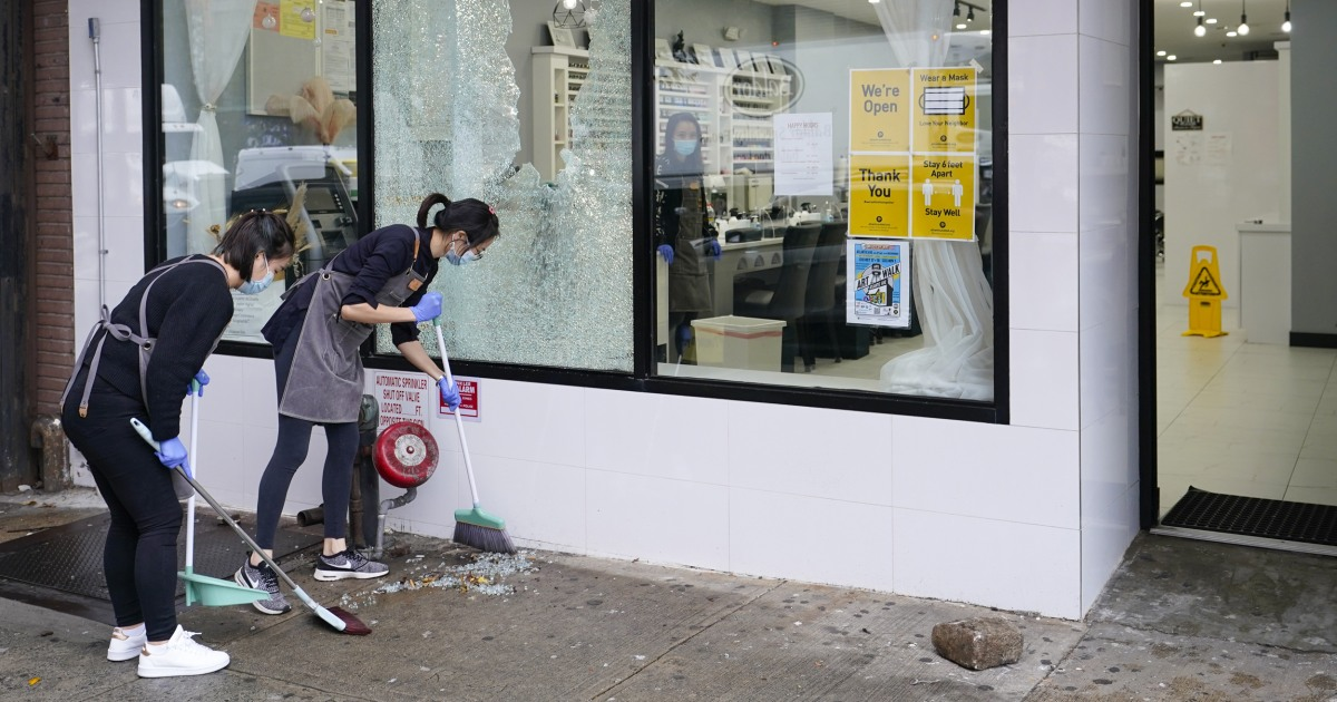 www.nbcnews.com: Stores and businesses prepare for potential election-related unrest