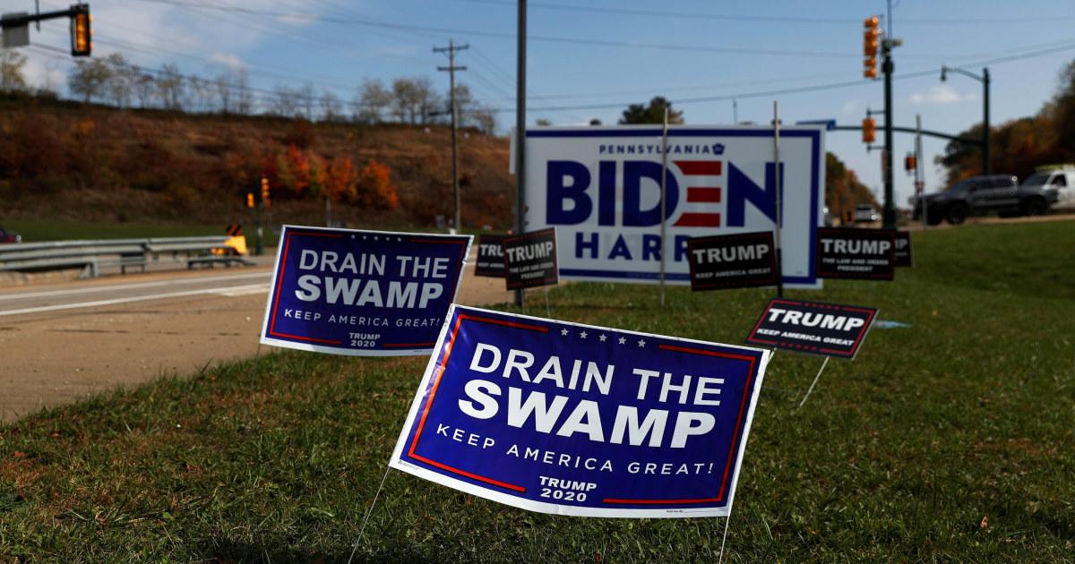 Pennsylvania's small-town Trump defectors: Rare — but possibly decisive