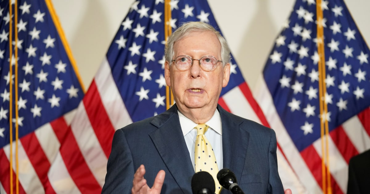 McConnell: I will fill Ginsburg's seat with Trump's nominee. Schumer says don't dare.
