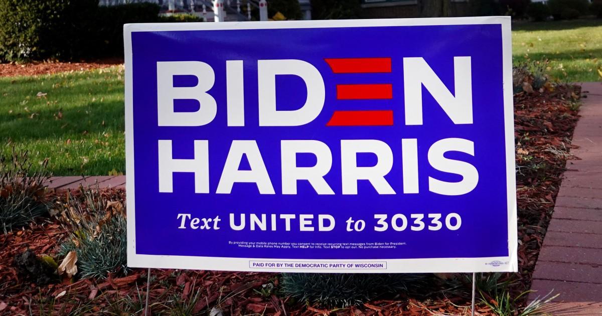 Deer heads left near Biden-Harris Black Lives Matter signs police say – NBC News