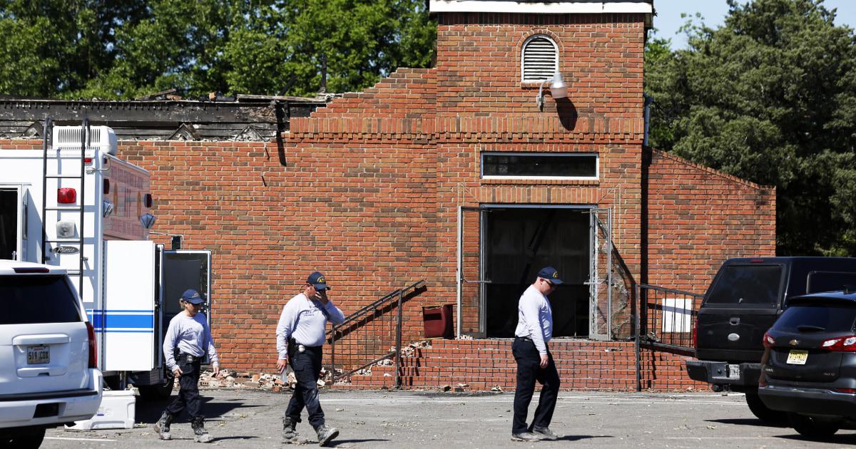 Louisiana man sentenced to 25 years for burning Black churches