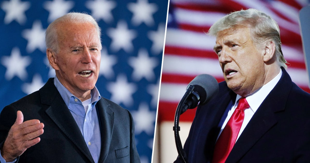 It's 'white-knuckle time' for Biden and Trump