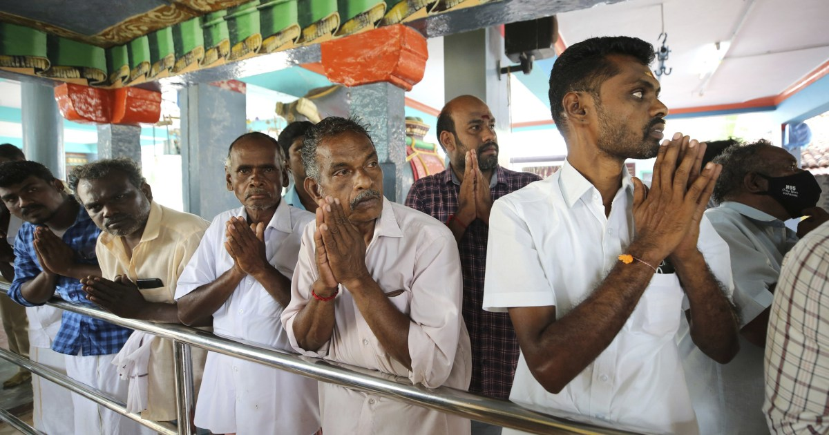 Harris Supporters Held Hindu Ceremony For Good Luck In Her Ancestral Village In India