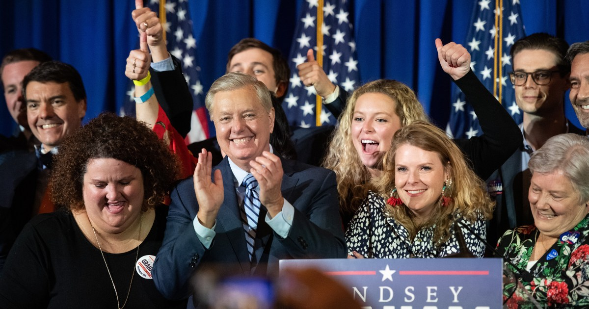 South Carolina Sen. Lindsey Graham holds off stiff challenge from Jaime Harrison, NBC News projects