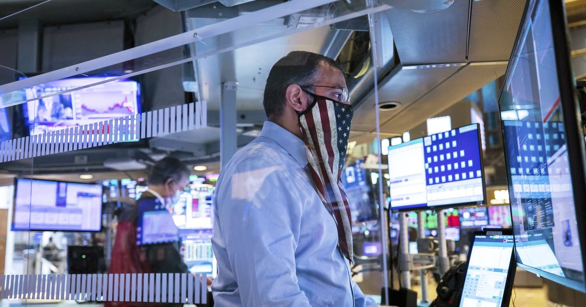 Dow futures surge by 1300 points on Pfizer vaccine news Biden win – NBC News