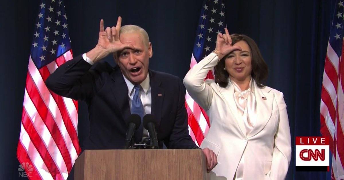 'Saturday Night Live' celebrates Biden's win