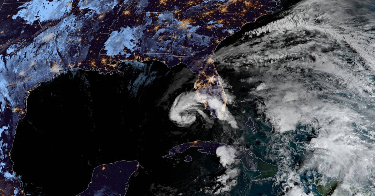 Tropical Storm Eta brings rain and flash flooding to Florida; could strengthen into hurricane – NBC News