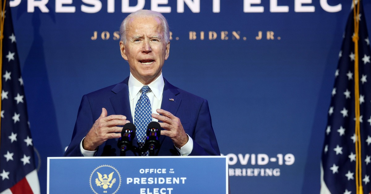 Biden will have a long list of economic fixes to make: Experts say these are the top 3