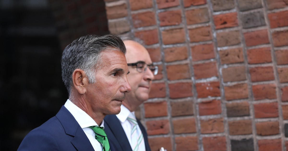 Lori Loughlin's husband Mossimo Giannulli reports to prison for admissions scandal sentence – NBC News