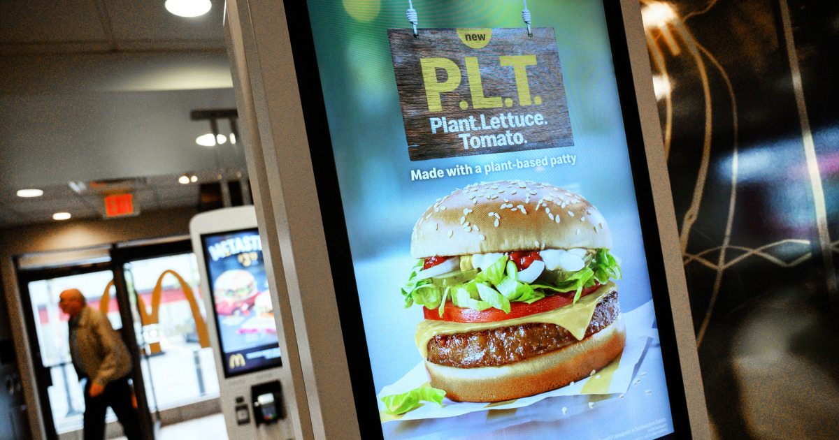 Plant-based products infiltrate fast food to meet customer demand