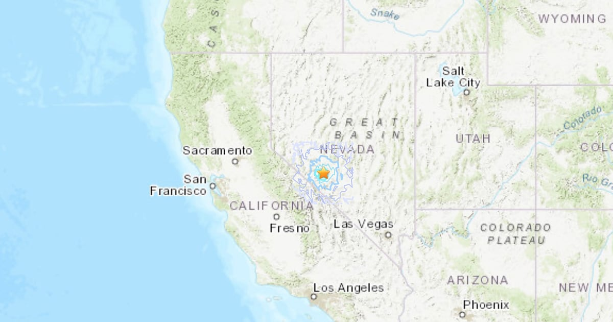 Magnitude 5.5 Earthquake Shakes Nevada and California