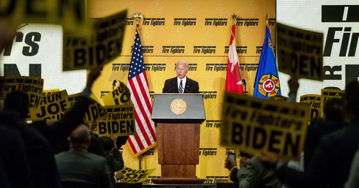 www.nbcnews.com: 'Joe's a blue-collar guy': After years of declining power, union leaders look to Biden