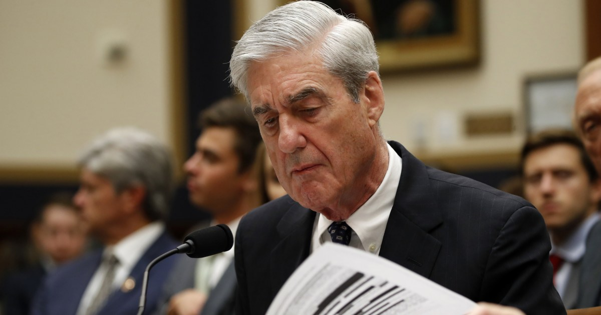 Supreme Court drops arguments in House fight for Mueller documents from schedule – NBC News
