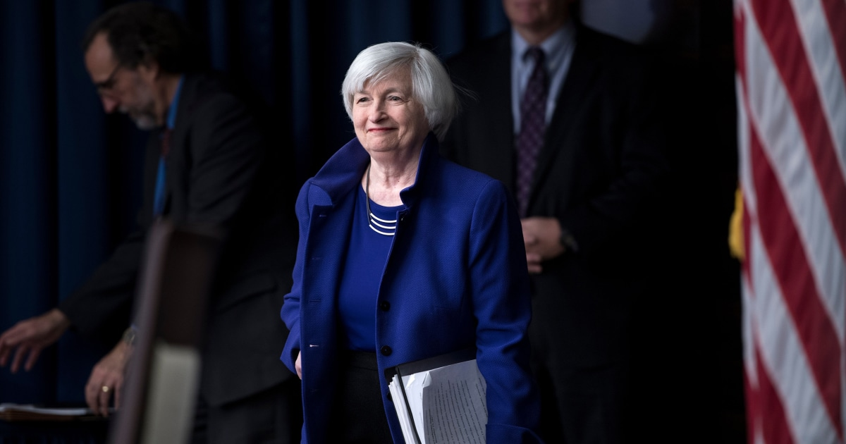 Yellen brings long history of policymaking, bipartisan support to Treasury