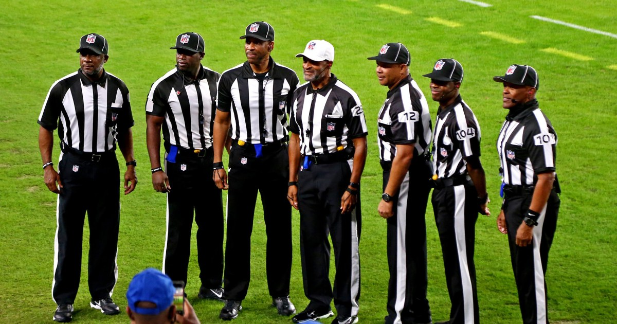 All-Black officiating crew makes NFL history