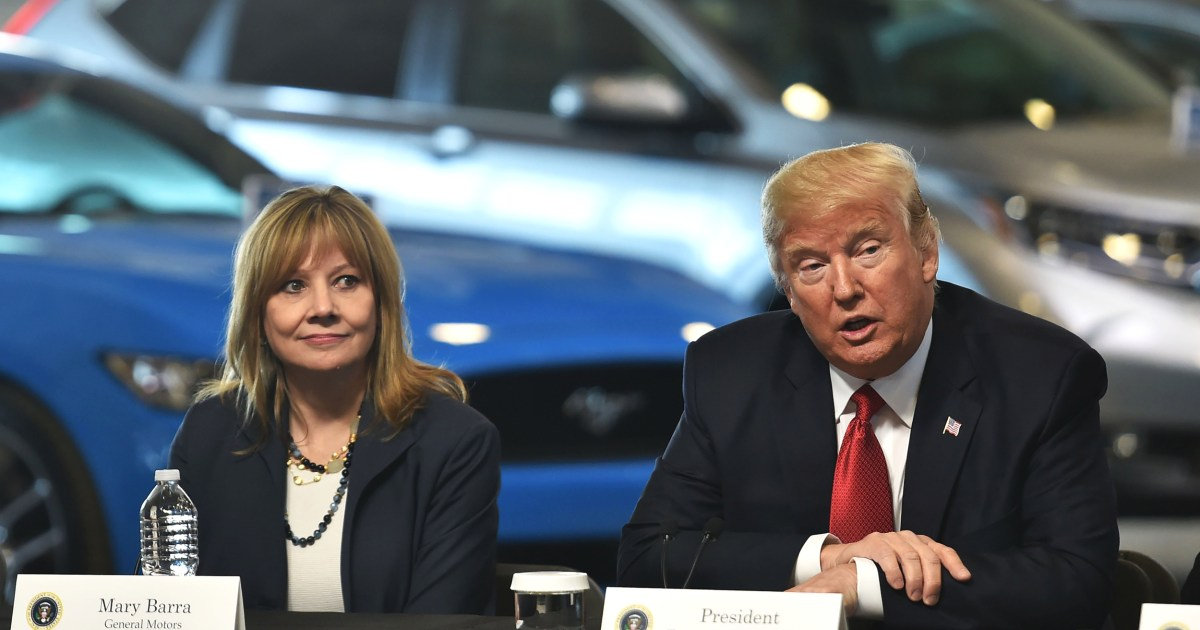 GM turns on Trump, now supports California's tough emissions rules