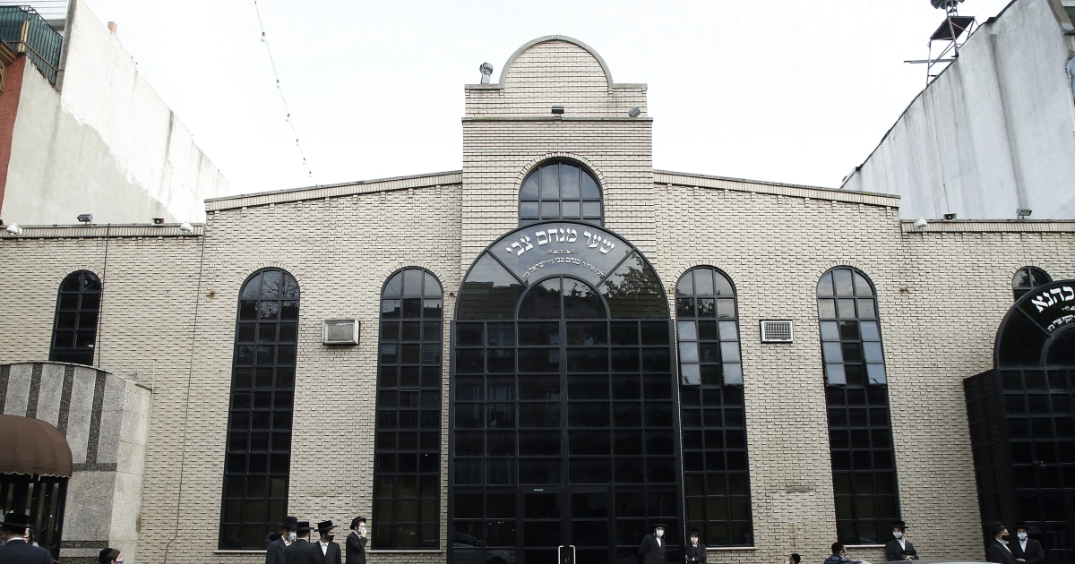 $15K fine for NYC synagogue with 7,000 person capacity after massive secret wedding