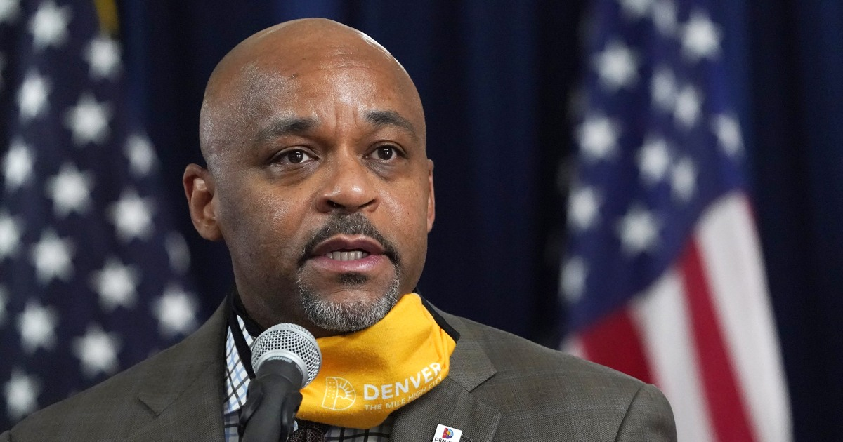 Denver mayor travels for Thanksgiving after urging people to stay home - NBC News thumbnail