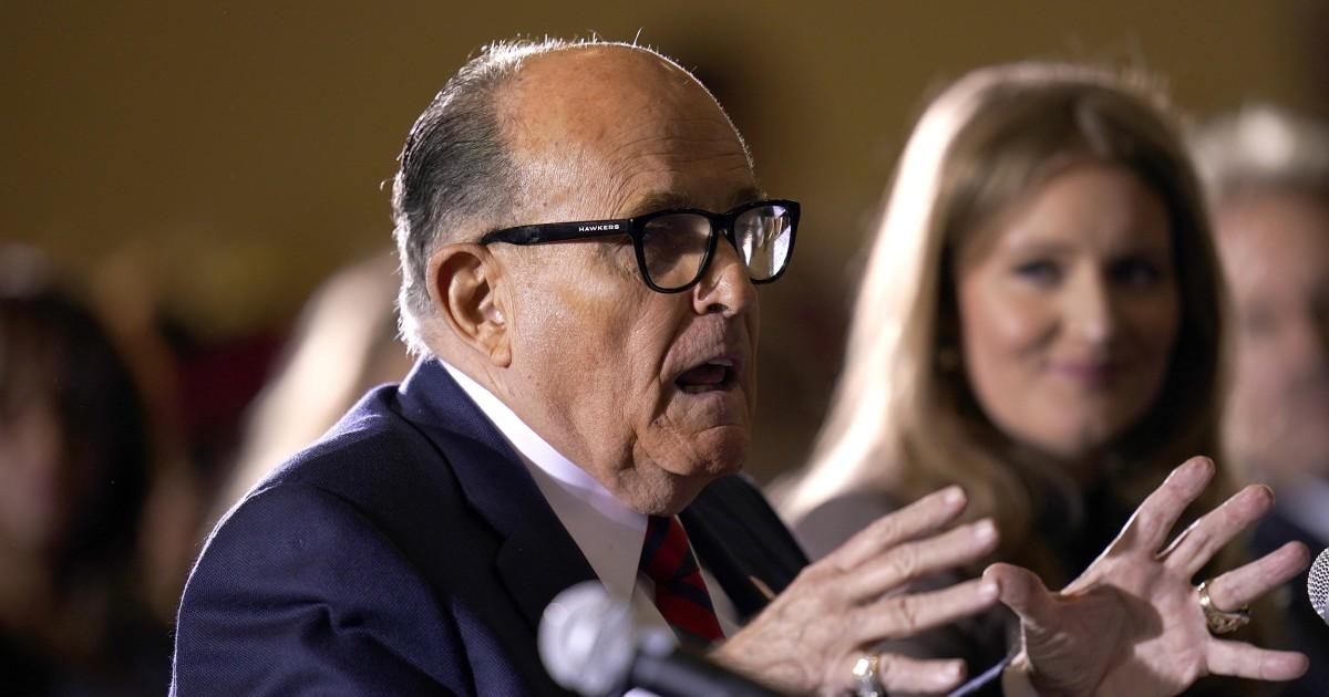 Appeals court deals Trump-Giuliani Pennsylvania lawsuit yet another blow