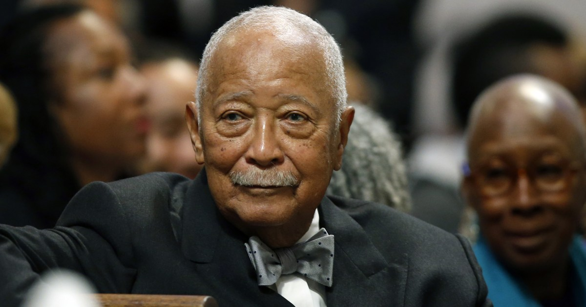 New York City's first Black mayor David Dinkins remembered as 'a warrior' in Harlem tribute