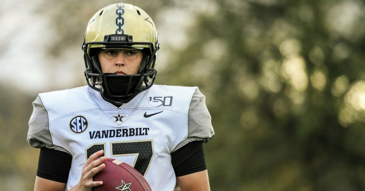 Vanderbilt University senior Sarah Fuller makes college football history as kicker