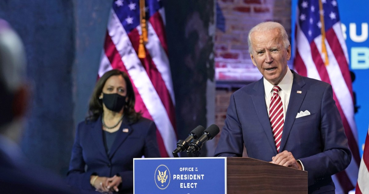 Biden receives first presidential daily briefing as Arizona certifies his win