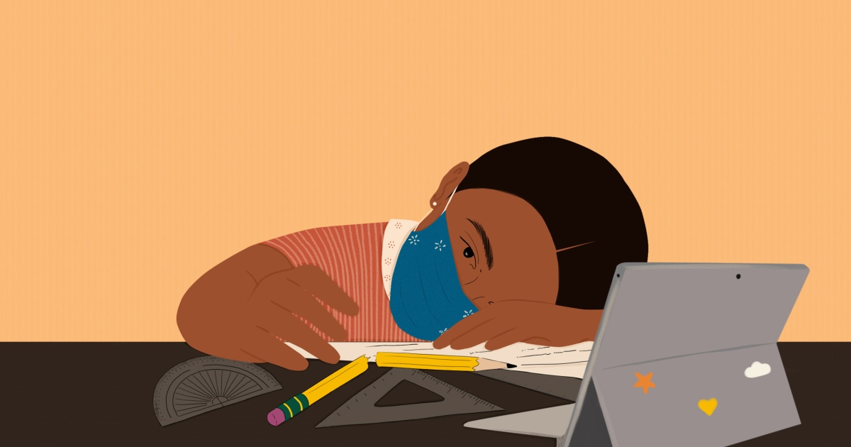 When Covid-19 closed schools, Black, Hispanic and poor kids took biggest hit in math, reading