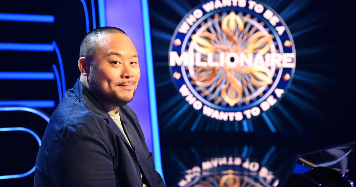 www.nbcnews.com: David Chang donating to hospitality workers after historic 'Who Wants to Be a Millionaire' win
