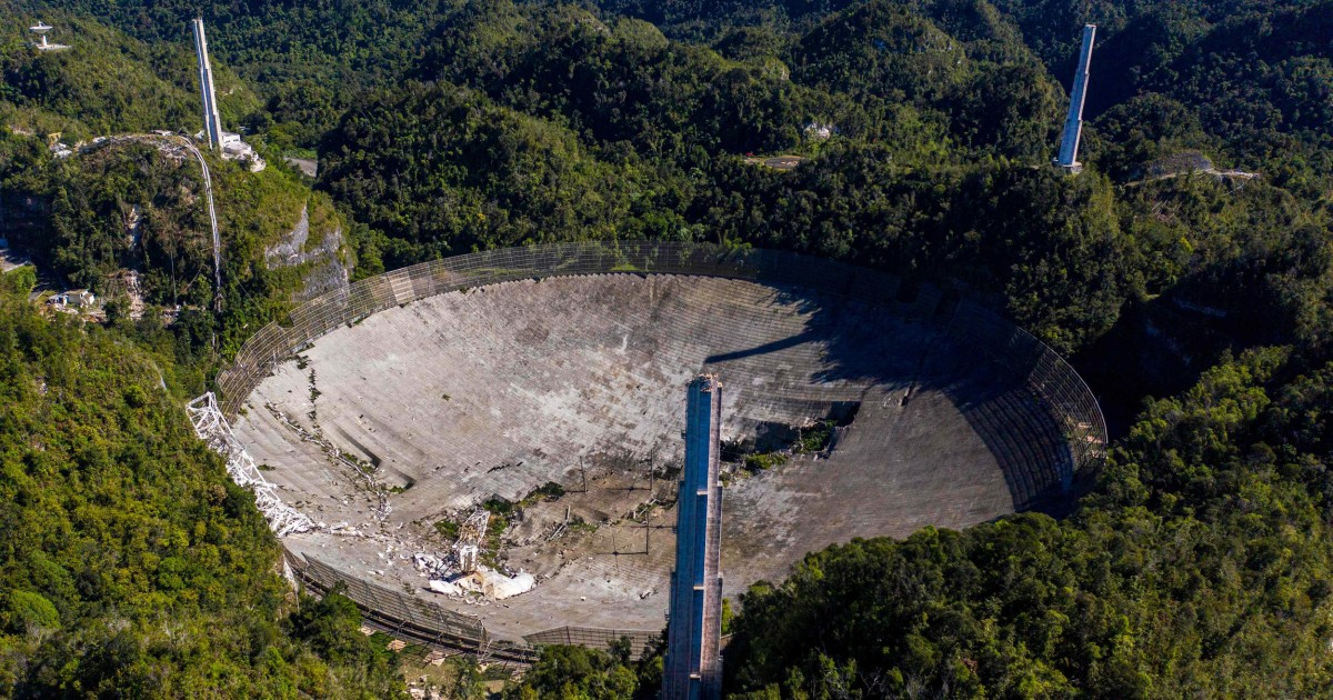 Puerto Rican scientists, shattered by collapse of Arecibo Observatory, push to rebuild
