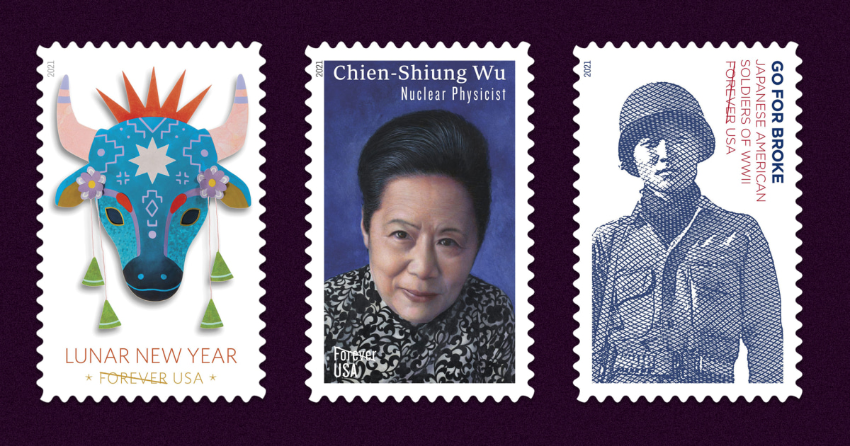 www.nbcnews.com: New stamps honor Japanese American vets, Chinese American physicist