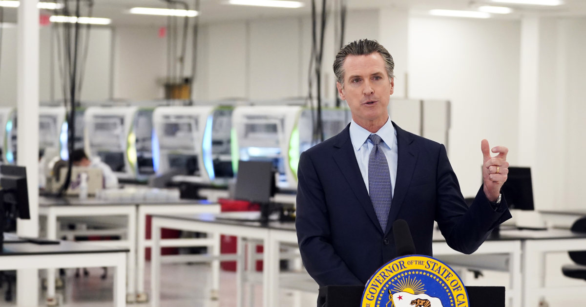 California governor introduces new stay-at-home order amid Covid surge