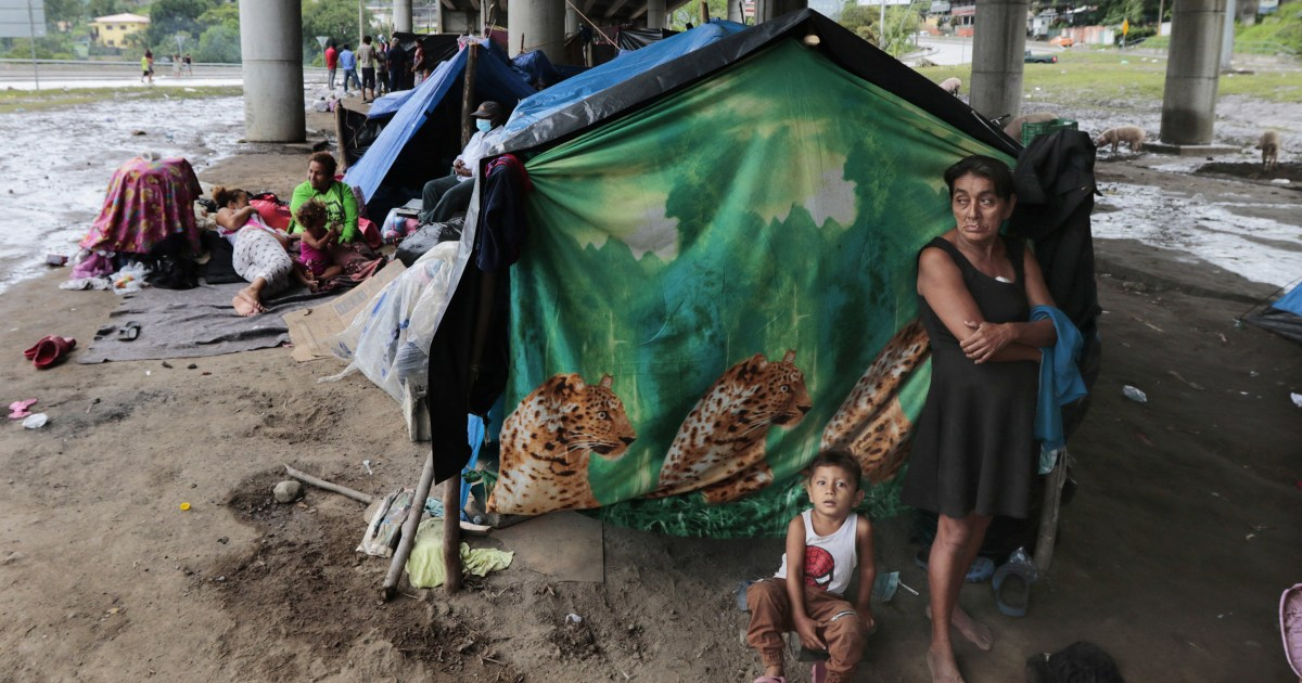 'No choice except to flee': After back-to-back hurricanes, Central Americans go north
