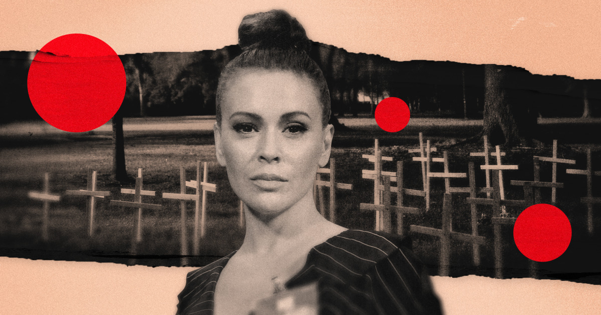 Alyssa Milano Covid shattered my illusion of safety. America is exhausted — and angry.