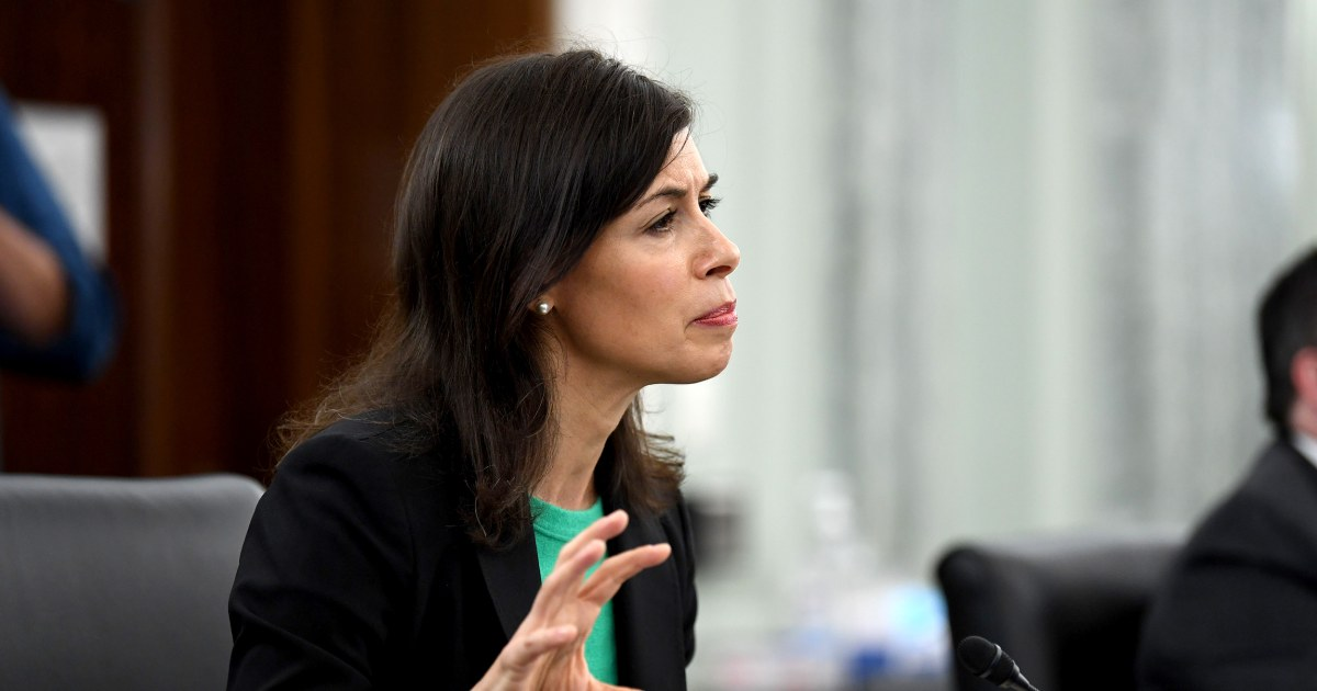 Biden picks Jessica Rosenworcel as acting FCC chief
