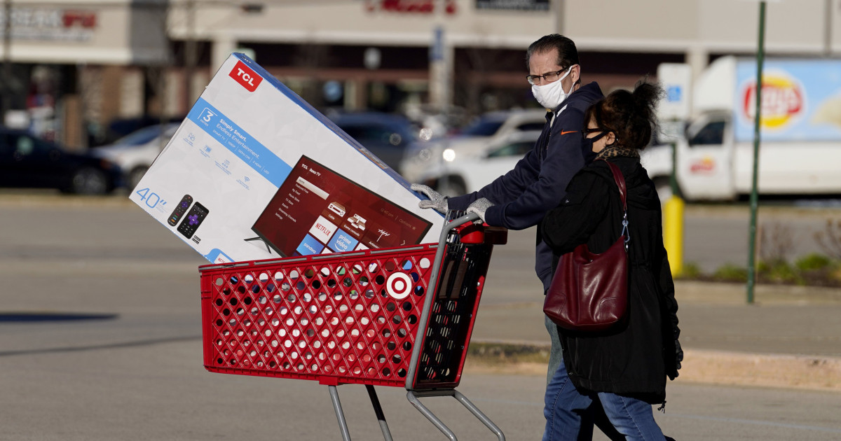 Retail sales plunged in November, as shoppers stayed home amid rising Covid cases