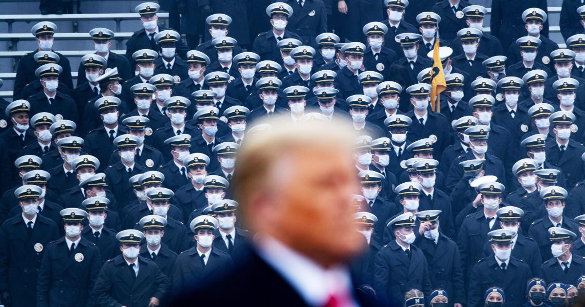 Trump vows to veto defense bill that Congress sent him
