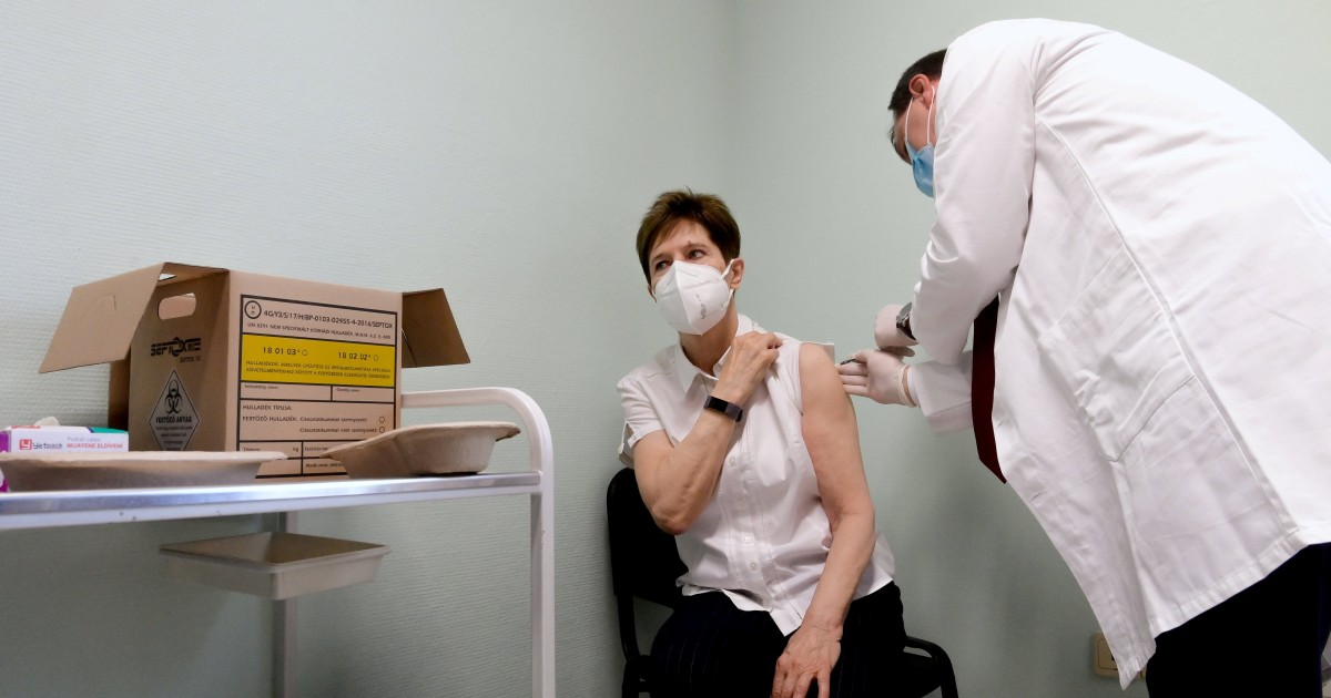 Vaccination starts for 450 million in Europe as fears arise over new coronavirus variant