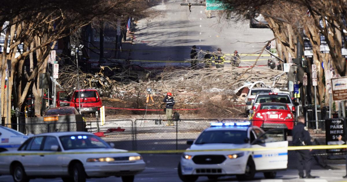 Suspected Christmas explosion in Nashville in explosion, investigators say