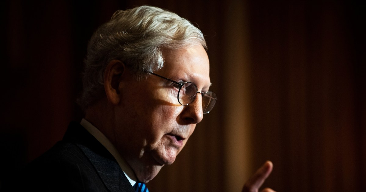 McConnell remains undecided on convicting Trump in Senate trial
