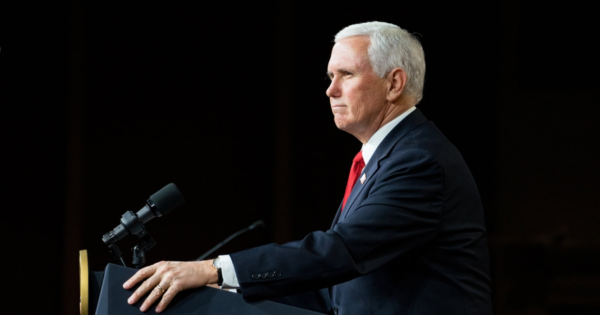 Fact check: No Pence can't overturn the election results – NBC News