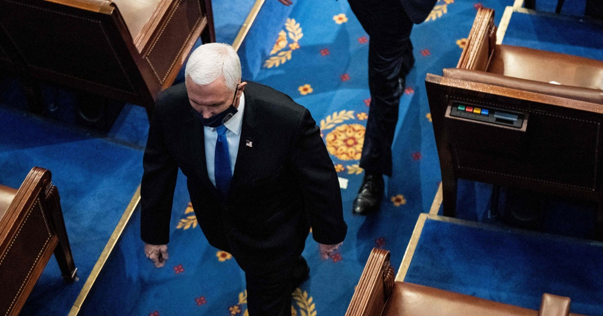 2021-02-13 10:30:14 | Trump's actions during the Capitol riot put Pence in danger — and national security at risk