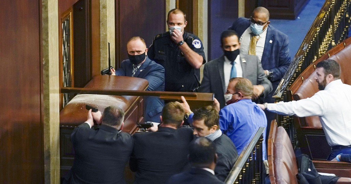 I'm an event planner and I could see the Capitol Police were woefully unprepared thumbnail