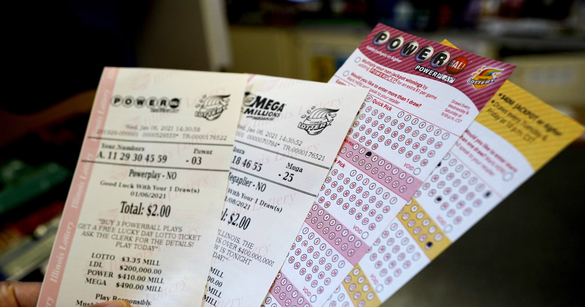 More than $1 billion up for grabs between Mega Millions Powerball jackpots – NBC News