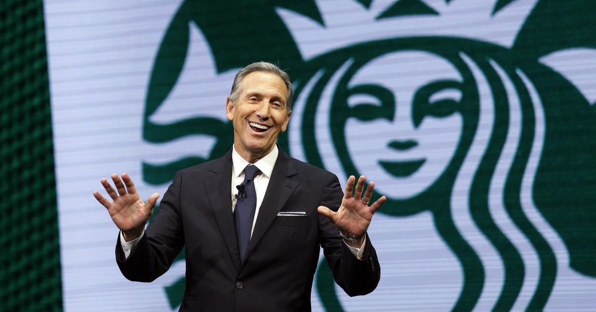 China's President Xi asks former Starbucks CEO Howard Schultz to help repair U.S. ties with Beijing